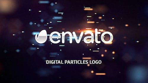 Digital Particles Logo