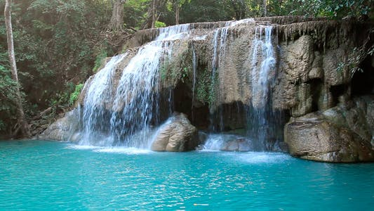Thumbnail for Tropical Waterfall