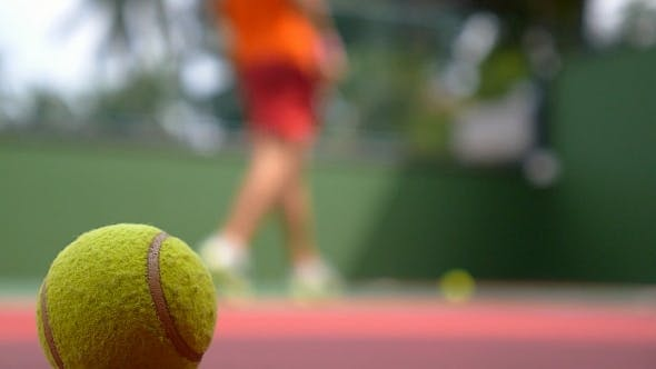 Thumbnail for Tennis Ball and Player