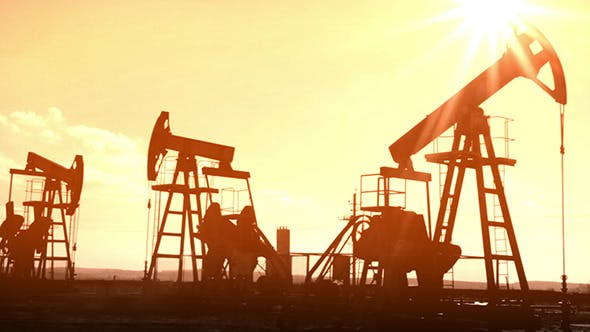 Thumbnail for Oil Pumps Silhouette