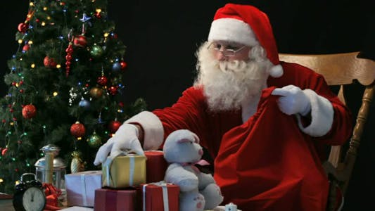 Thumbnail for Santa with sack
