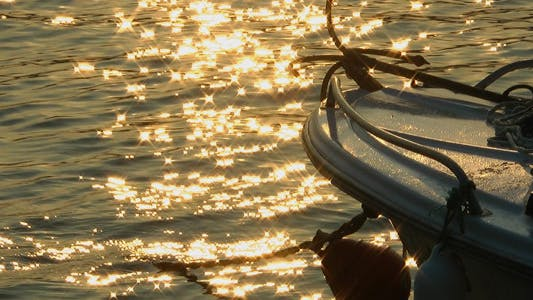 Thumbnail for Fishing Boat and Sun Reflection on Sea