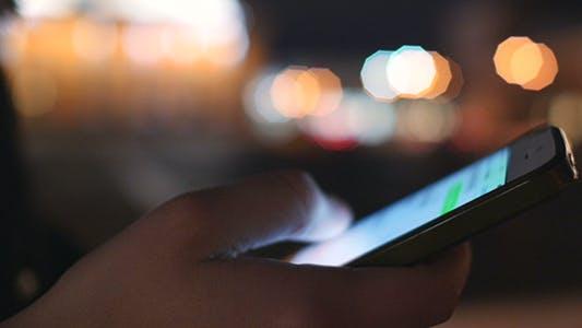 Thumbnail for Girl Using Smart Phone