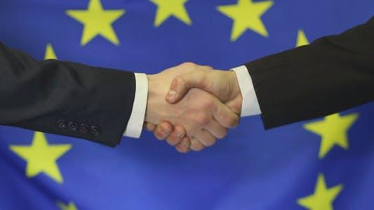 Thumbnail for European Business Partners Handshake