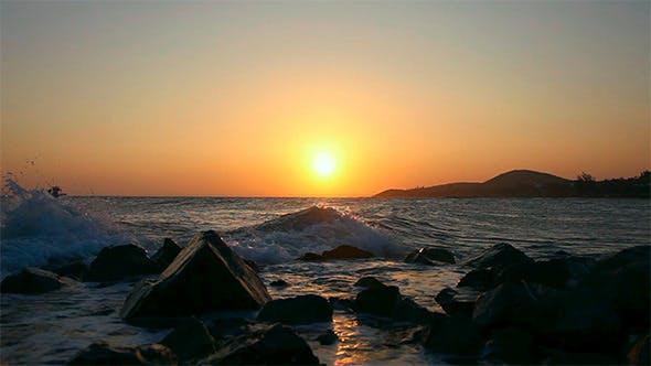 Thumbnail for Sunset in Ocean