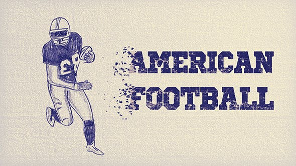 Thumbnail for American Football | After Effects Template