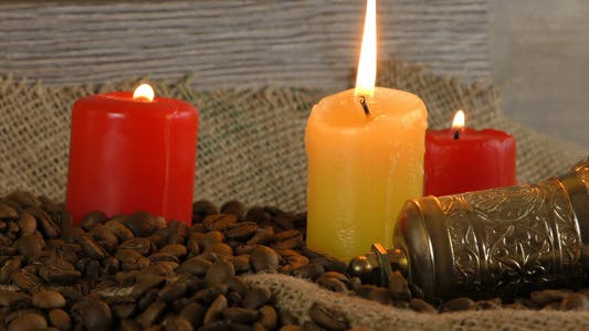 Thumbnail for Roast Coffee in Candle Light 2