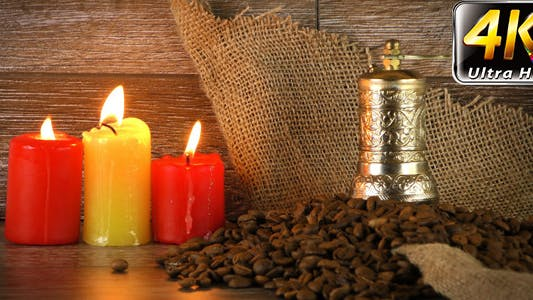 Thumbnail for Roast Coffee in Candle Light 5