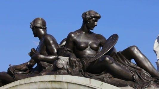 Thumbnail for Detail of Victoria Memorial Fountain
