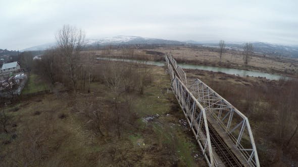 Thumbnail for Old Railway Bridge Crossing A River 2