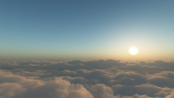 Thumbnail for Flying In Clouds Slide Version 02