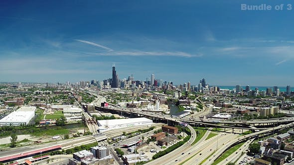 Thumbnail for Chicago From Above in the Summer
