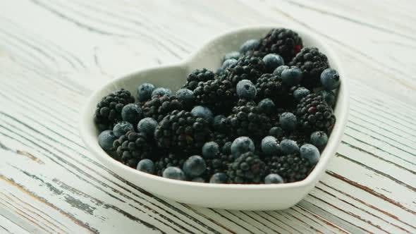 Thumbnail for Pile of Berries in Bowl