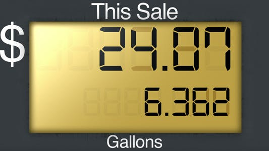 Thumbnail for Gas Station Pump Display - Series of 2