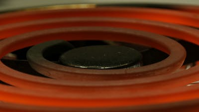 Red Hot Spiral Hotplate
