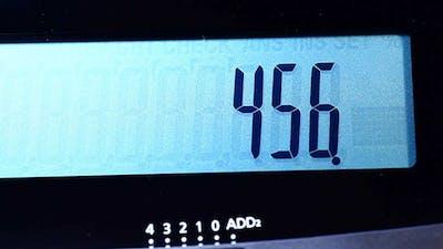 Calculator Close Up 372