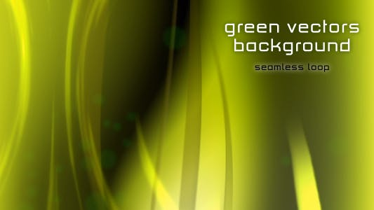 Thumbnail for Green vectors Background