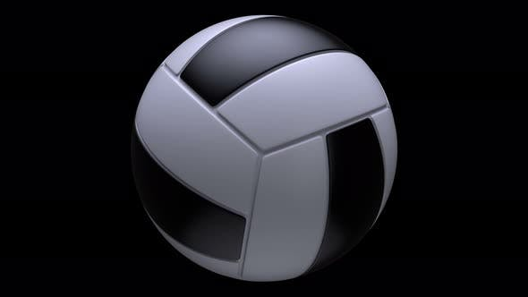 Thumbnail for Realistic Volleyball Seamless Loop With Alpha Matte