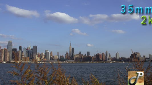 Thumbnail for New York City Skyline In Autumn 02