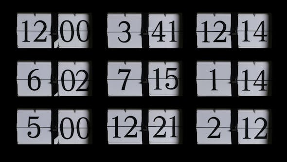 Thumbnail for Vintage Old Style Flip Clock 4