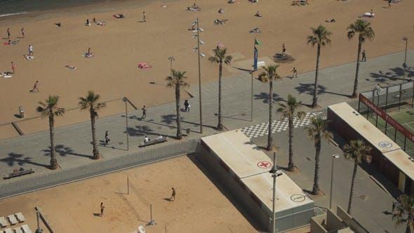 Thumbnail for Barcelona Beach Promenade