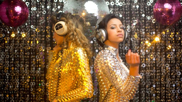 Thumbnail for Sexy Disco Party Women Catsuits 4