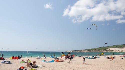 Kite Surfin Tarifa, Spanien