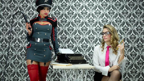 Thumbnail for Sexy Secretary Office Burlesque Business 3