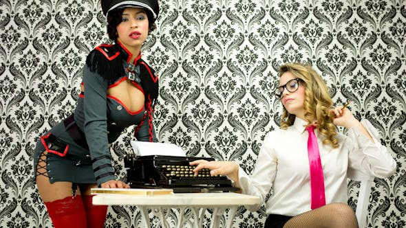 Thumbnail for Sexy Secretary Office Burlesque Business 5