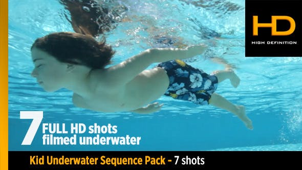 Thumbnail for Underwater Kid Pack 7 Clips