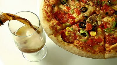 Pizza & Coke