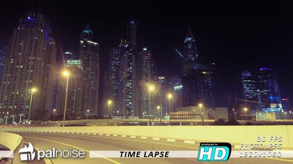 Thumbnail for Skyline Skyscraper & Road