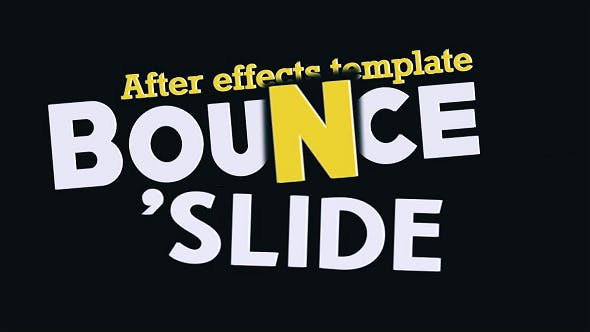 Thumbnail for Fresh Animated Titles - Bounce n' Slide