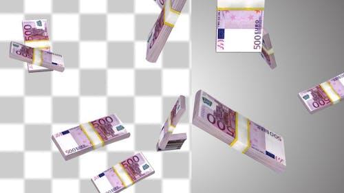 Money Stack Of Euros