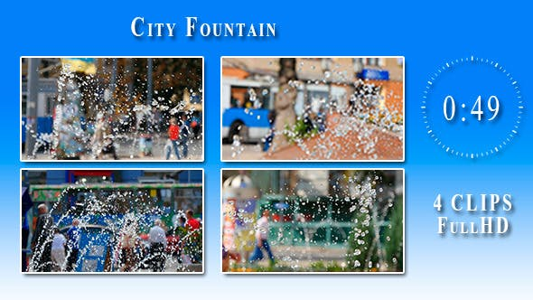Thumbnail for City Fountain (4 Items)