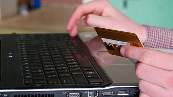 Thumbnail for Online Shopping With Credit Card And Computer