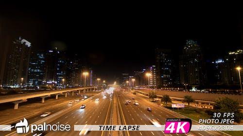 Dubai Highway Sheikh Zayed