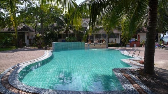 Thumbnail for Tropical Swimming Pool In Luxury Resort