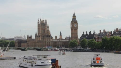 Westminster and Thames River