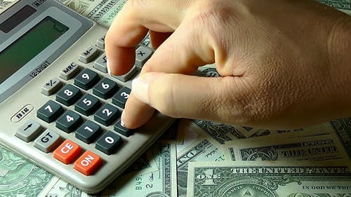 Calcul de l'argent