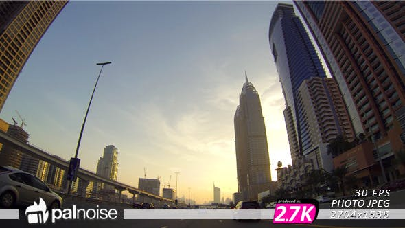 Thumbnail for Dubai Road Sunset