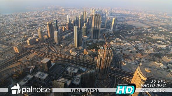 Thumbnail for Dubai Cityscape Skyline Day