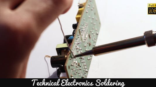 Thumbnail for Technical Electronics Soldering 2