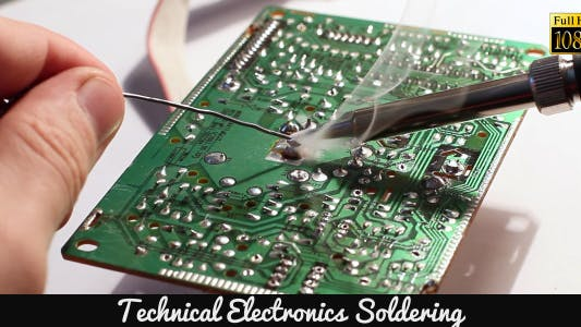 Thumbnail for Technical Electronics Soldering 3