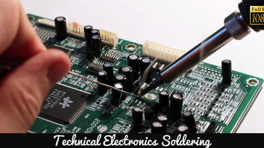 Thumbnail for Technical Electronics Soldering 5