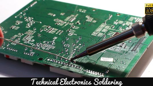 Thumbnail for Technical Electronics Soldering 6