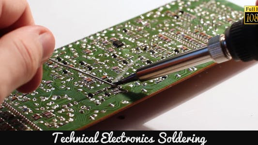 Cover Image for Technical Electronics Soldering 7