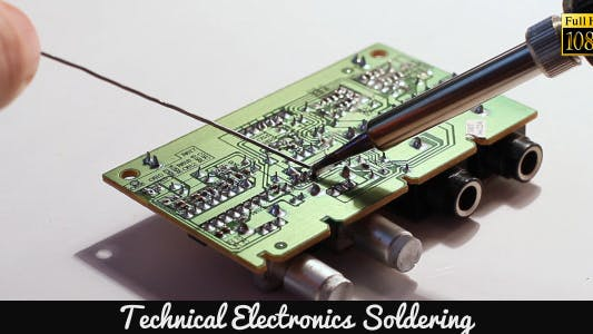 Thumbnail for Technical Electronics Soldering 8