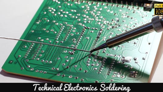 Thumbnail for Technical Electronics Soldering 9