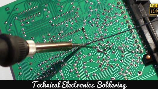 Thumbnail for Technical Electronics Soldering 10